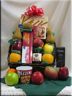 Let Aiellos take care of your fruit basket and gift basket needs